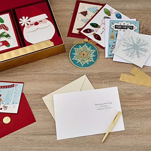 Hallmark Boxed Handmade Christmas Card Assortment (24 Cards and Envelopes) Photo #8