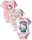 Hello Kitty Girls' Value Pack Bodysuits