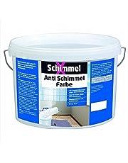 Pufas SchimmelX Anti-Schimmelfarbe Innen-Farbe mit Langzeitschutz Weiß