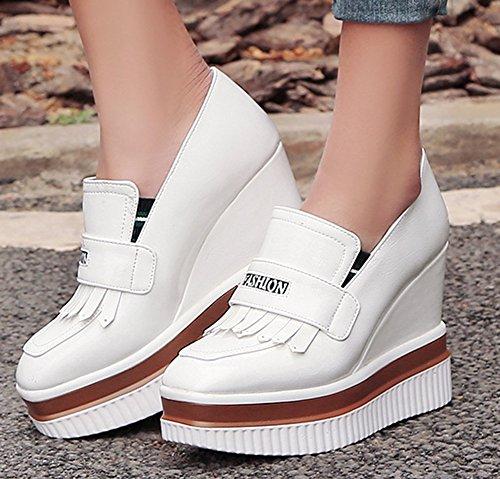 Compensé Sneakers Slip Talon Easemax Décontracté Voyage Franges Femme on qxwSxfnHOP