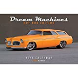 2018 Dream Machines - Hot Rod Edition Deluxe Wall Calendar