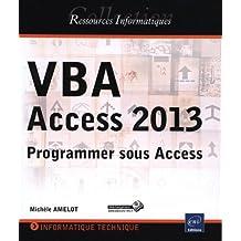 VBA Access 2013 - Programmer sous Access
