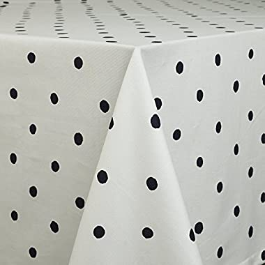 Kate Spade Charlotte St Tablecloth, 60 by 102-Inch, Navy