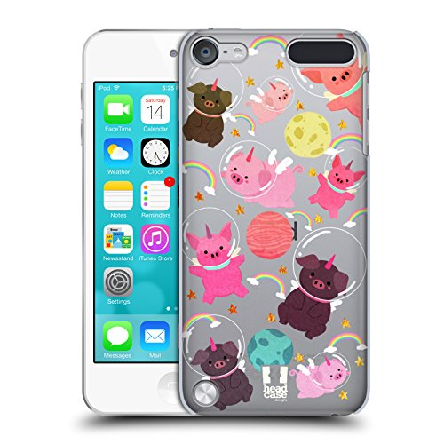 - Head Case Designs Pig Space Unicorns Hard Back Case Compatible for Touch 5th Gen/Touch 6th Gen