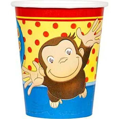 Curious George Party Supplies Cups by Unique Industries
