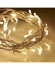 LED String Lights Warm White Fairy Lights 10M Christmas Party Room Decor 8 Modes 31V Low Voltage