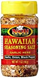 NOH Foods of Hawaii Garlic Herb Hawaiian Seasoning Salt, 7 Ounce