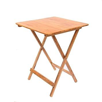 Petite Table carrée Pliante Bureau d\'enfant Portable Table de Chevet ...