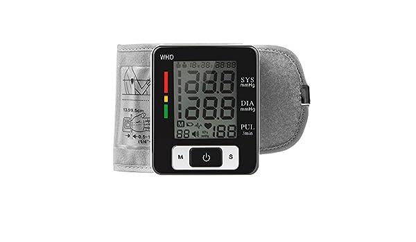cocare W133 corazón Beat medidor y muñeca presión arterial Monitor ck-w133 con función de memoria y discurso: Amazon.es: Electrónica