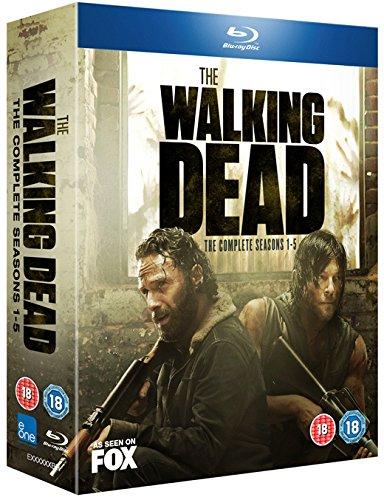 The Walking Dead (Complete Seasons 1-5) - 20-Disc Box Set ( The Walking Dead - Seasons One to Five (67 Episodes) ) [ NON-USA FORMAT, Blu-Ray, Reg.B Import - United Kingdom ]