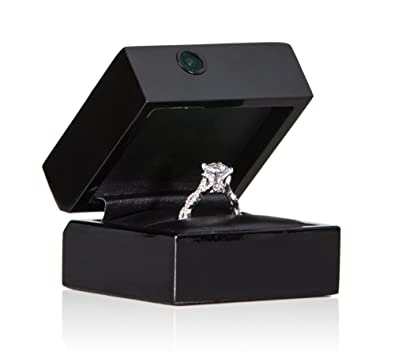 Amazoncom Ring Cam Video Engagement Ring Box Camera Jewelry