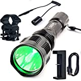 Best BestFire® 18650 Chargers - Uniquefire Hs-802 XPE Green Light Hunting Flashlight Kit Review