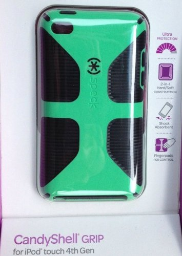speck candy shell grip case for ipod 4th