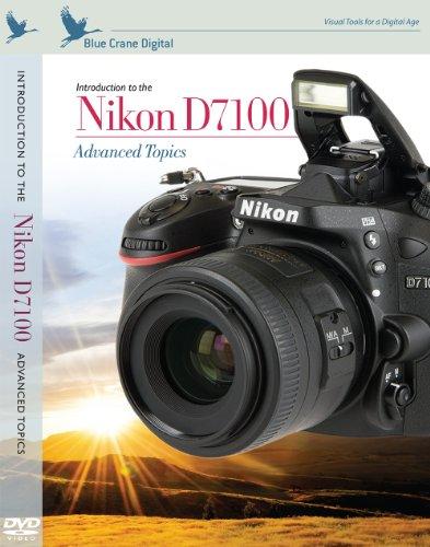 Blue Crane Digital ZBC156 Introduction to the Nikon D7100: Advanced Topics (Black)