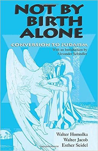 Amazon com: Not by Birth Alone: Conversion to Judaism (Jewish