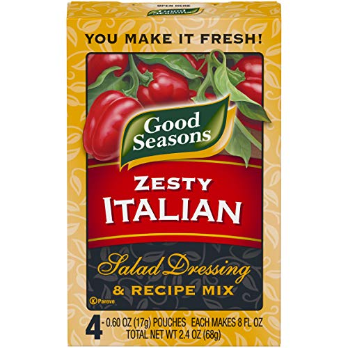 Kraft Zesty Italian Salad Dressing & Recipe Mix (2.4 oz Packet)