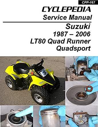 Amazon.com: 1987-2006 Suzuki LT80 Quad Runner/Quadsport - Kawasaki KFX80  Service Manual eBook: Cyclepedia Press LLC: Kindle StoreAmazon.com