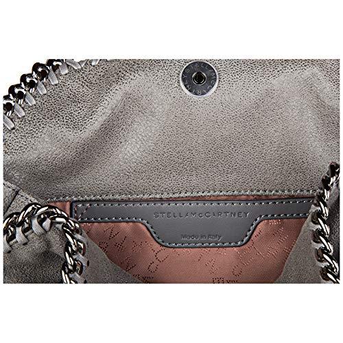 main deer femme shaggy falabella à sac mini Stella Mccartney gris AtvBUq
