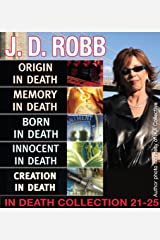 J.D. Robb IN DEATH COLLECTION books 21-25 Kindle Edition