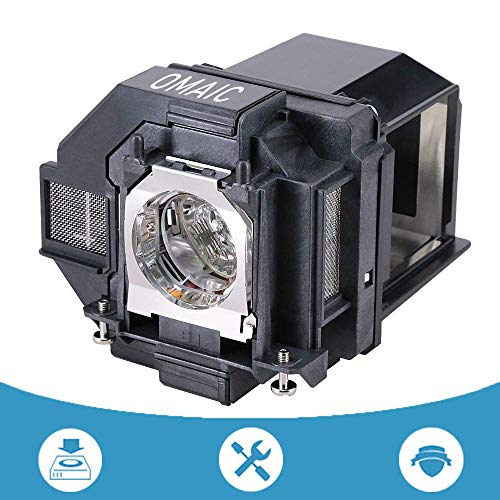 OMAIC Projector Lamp Bulb for Epson ELPLP96/ V13H010L96 Home Cinema PowerLite 100 2150 1060 660 760hd VS250 VS350 VS355 EX9210 EX9220 EX3260 EX5260 EX7260 Replacement Projector Lamp/Bulb