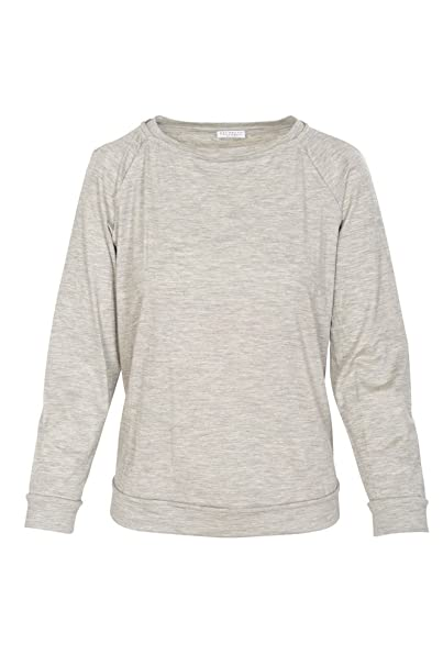 Casual S Gris Mujer Normal Cachemira Brunello Cucinelli Suéter FpqTYT