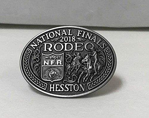 HESSTON 2017 NATIONAL FINALS RODEO NFR ADULT BELT BUCKLE. NEW COWBOY WRANGLER (Rodeo Belt Buckles)