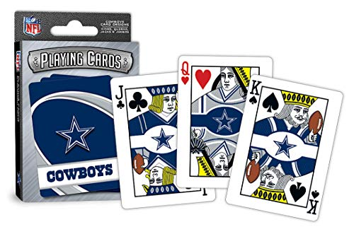 MasterPieces NFL Dallas Cowboys Playing Cards (Dallas Cowboys Merchandise Women)