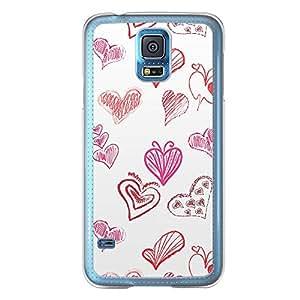 Loud Universe Samsung Galaxy S5 Love Valentine Printing Files A Valentine 7 Printed Transparent Edge Case - Multi Color
