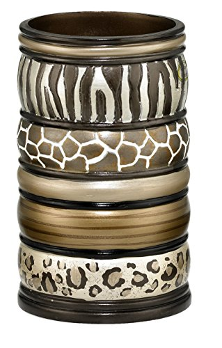 Popular Bath Safari Stripes Bath Collection - Bathroom Tumbler Cup