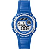Timex TW5K85000 Digital Mid Marathon Blue Chronograph Watch