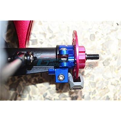 GPM Traxxas Unlimited Desert Racer 4X4 (#85076-4) Upgrade Parts Aluminum Rear Axle Hub - 1Pr Set Orange: Toys & Games