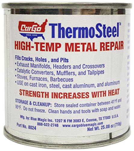 (Blue Magic 8024 ThermoSteel High-Temp Metal Repair - 24)