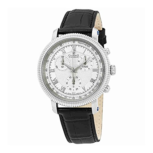 Charmex President II Chronograph White Dial Mens Watch 2990