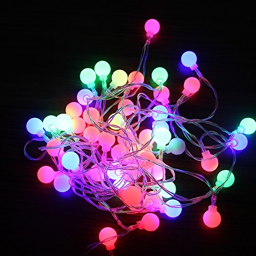 Led Rgb Ball String Light in US - 5