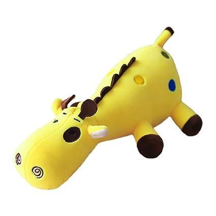 b6865e39017c6 Amazon.com  Giraffe Stuffed Animal Soft Plush Toy Adorable Lay-down ...