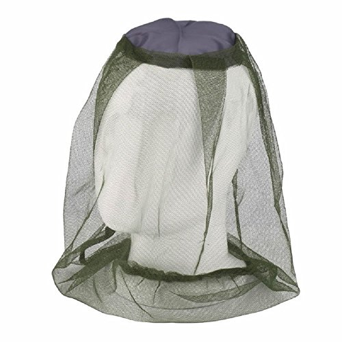 Kangnice Camping Bug Travel Mesh Protector Face Midge Mosquito Hat Net Insect Head