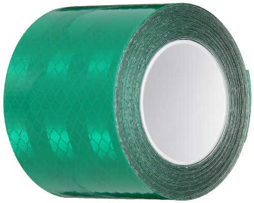 3M 3437 Green Micro Prismatic Sheeting Reflective Tape, 2