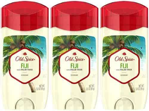 Old Spice Aluminum Free Deodorant for Men, Fiji with Palm Tree Scent, 3.0 Ounce, (Pack of 3)