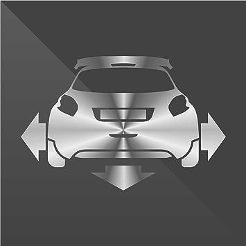 Erreinge Sticker Peugeot 208 Argento Silver Argent Plata