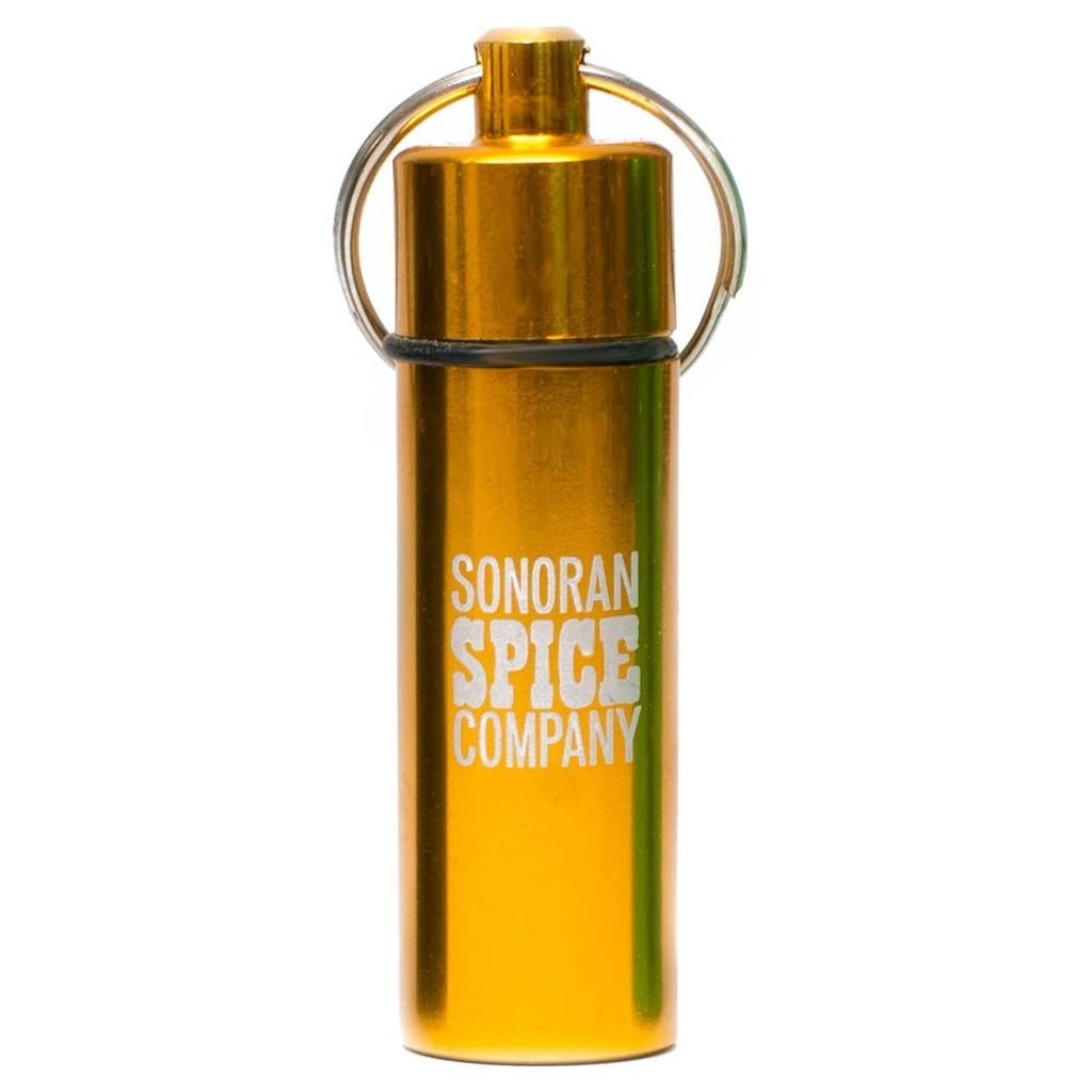 Sonoran Spice Carolina Reaper Powder Spice Keychain (Black)