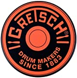 "Gretsch Round Badge 6"" Orange Practice Pad"