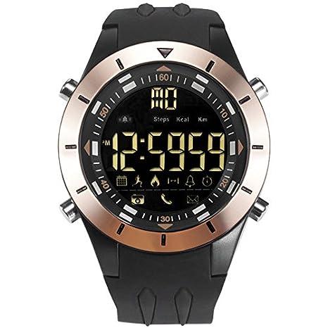 smael resistente al agua hombre reloj deportivo Cool electrónico relojes hombres militares alarma pantalla LED reloj Digital relojes de pulsera automático ...