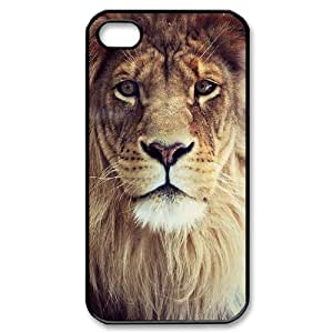Lion ZLB554418 Brand New Case for Iphone 4,4S, Iphone 4,4S Case by lolosakes