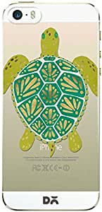DailyObjects Turtle Green Clear Case For iPhone 5/5S