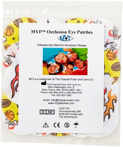 MYI Occlusion Eye Patches - Boys #2, Regular Size (51 Per (Eye Patch Therapy)