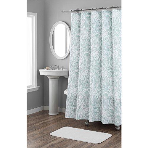 Home Dynamix Nicole Miller Le Petite Fleur 100% Cotton Fabric Shower Curtain, Standard 72