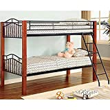 Coaster Furniture Twin over Twin Bunk Bed Haskell CO2248 For Sale