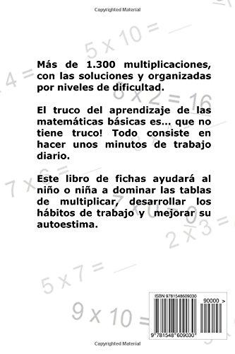 Aprender las Tablas de Multiplicar: Para niños y niñas de 7-9 años 2º-3º de Primaria : Volume 4 Libro de Fichas: Amazon.es: Carlos Arribas: Libros