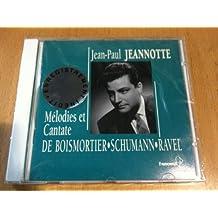Melodies et Cantate de Boismortier, Schumann, Ravel