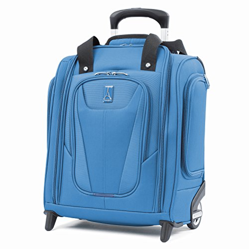 Cheap Travelpro Luggage Maxlite 5 15″ Lightweight Carry-on Rolling Under Seat Bag, Azure Blue